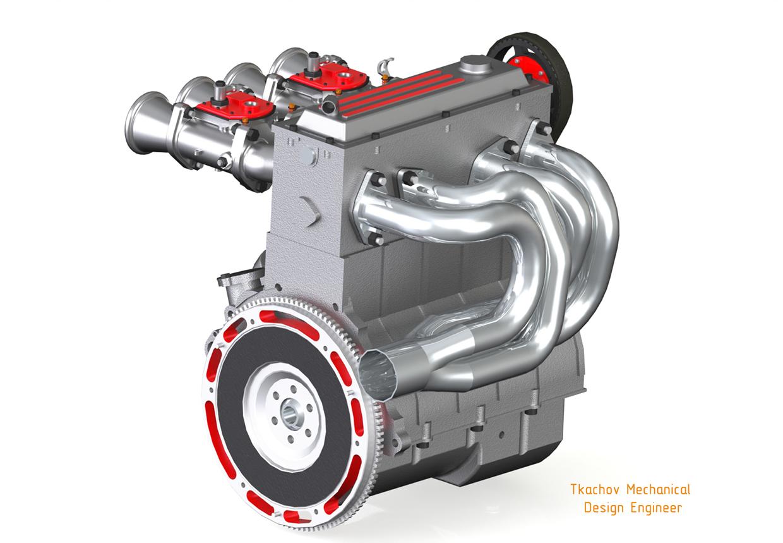 Mechanical engineering car engine - photo#28