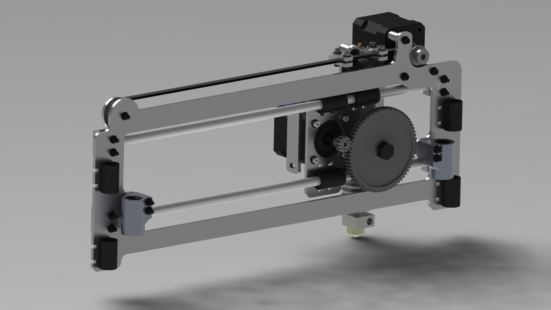 Modeling 3 D Printer Solidworks Drawings Rendering